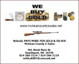 McKean County E-Sales