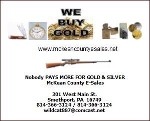 McKean County E-Sales