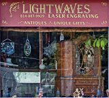 Diana Covert's new Lightwaves Laser Engraving Shop on Main Street