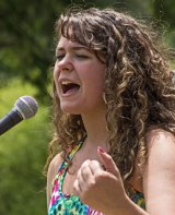 Kaitlyn Hallock performing at National Wooly Willy Wonderdaze - 2012